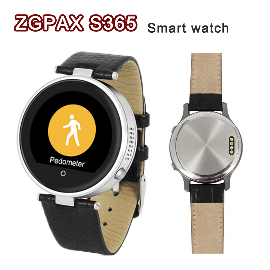 font b Smartwatch b font ZGPAX S365 Bluetooth 4 0 Smart Watches WristWatch Round touch