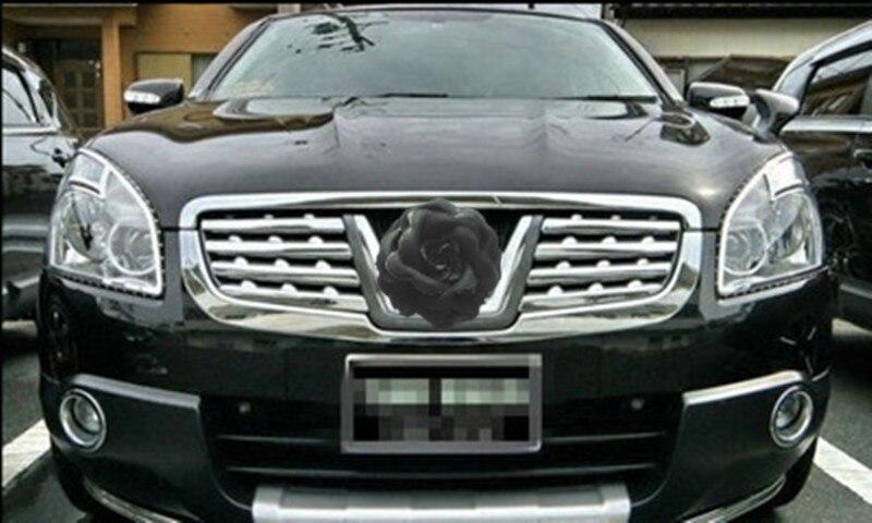 Voiture style ABS calandre autour de garniture de course grilles garniture pour Nissan Qashqai J10 2008-2015 accessoires de voiture - 4