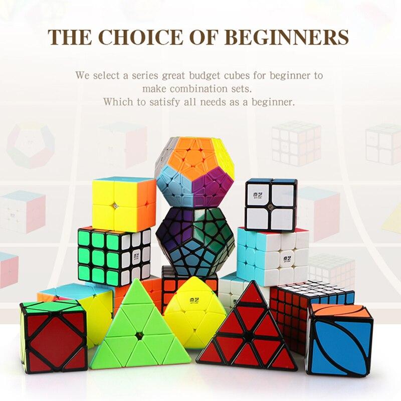 2X2X2 3X3X3 4X4X4 Speed Cube ensemble de luxe forme irrégulière Cube coloré drôle jouets pour enfants avec emballage