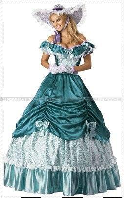 Promotion expédition lumière coloniale guerre civile Scarlett/sud Belle Lolita Cosplay robe de bal/robe de soirée