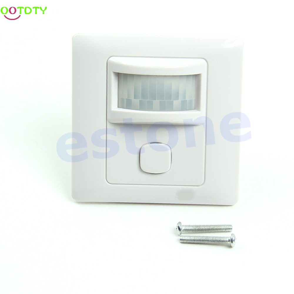 IR Infrared Motion Sensor Automatic Light Lamp Switch 200V-250V AC New  828 Promotion sensor automatic light lamp ir infrared motion control switch energy saving y103