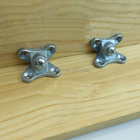 Free Shipping DIY Furniture Hardware Triple Wardrobe Assembly Screw Fasteners Connecting Angle Iron Butterfly Zamac Kd