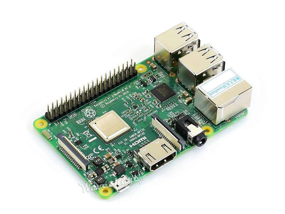 Raspberry Pi 3 Model B the Third Generation Pi 1 4GHz 64 bit CPU 1GB RAM