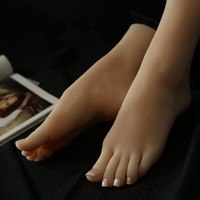 2019 real sex dolls japanese full life size silicone feet false feet foot toy realistic beautiful sexy model,foot sex toys