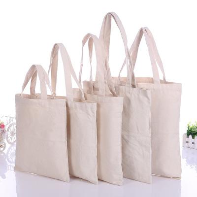 1pc High Quality Women Men Handbags Canvas Tote Bags Reusable Cotton Grocery Capacity Ping Bag