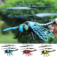 2017 creative RC animal toy S700 simulation remote control Dragonfly 4.5CH Infrared rc toys flying dragonfly electric model toy