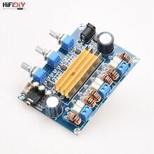 HIFIDIY Amplificador Digital de Audio Hi Fi para coche, tablero amplificador de Audio Hi Fi en vivo A2.1 TPA3116 2,1 50W * 2 + 100W TPA3116, para altavoz en casa