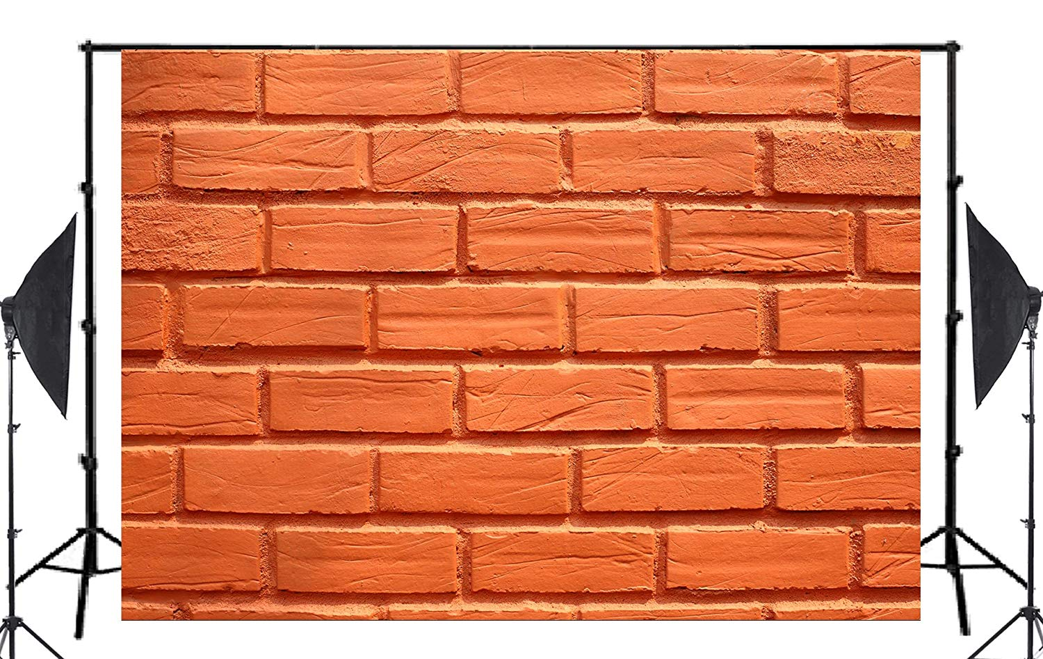 7x5ft Exquisite Clearly Orange Brick Photography Background Kids Wedding Photo studio Backdrop photography Wall in Photo Studio Accessories from Consumer Electronics