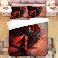 Game of Thrones 3D bedding set  Duvet Covers Pillowcases A Song Ice and Fire comforter sets bedclothes bed linen