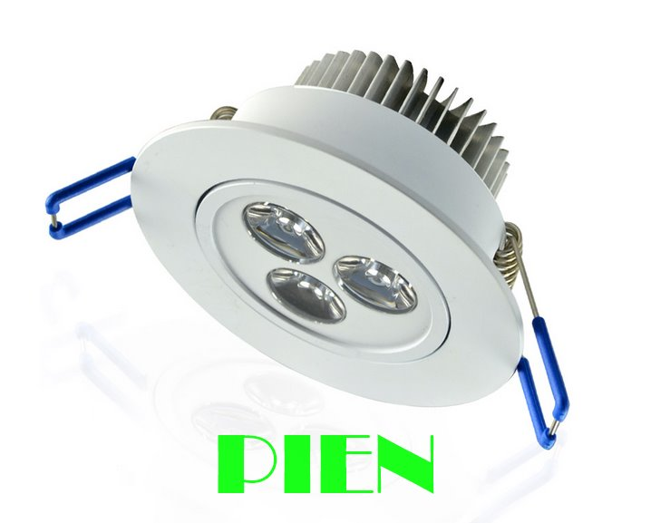 Dimmable 3W 5W 7W <font><b>led</b></font> downlight <font><b>plafonnier</b></font> <font><b>led</b></font> lamparas de techo Aluminum for home Indoor IP44 110V 220V CE&#038;ROHS by DHL 10pcs