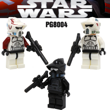 DR TONG PG8004 PG8005 Shadow ARF Trooper Princess Leia Collection Limited Mini Building Block Child Gift