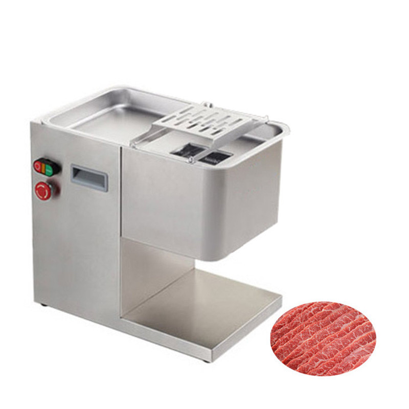 BEIJAMEI 300KG Electric Industrial Fresh Meat Cutter Machine 2mm-5mm Commercial Meat Slicer Machine Price стоимость
