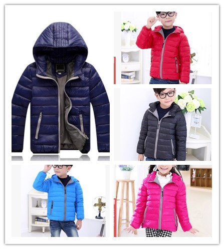 f7791ba4f 2018 Children s Outerwear Boy and Girl Winter Warm Hooded Coat ...