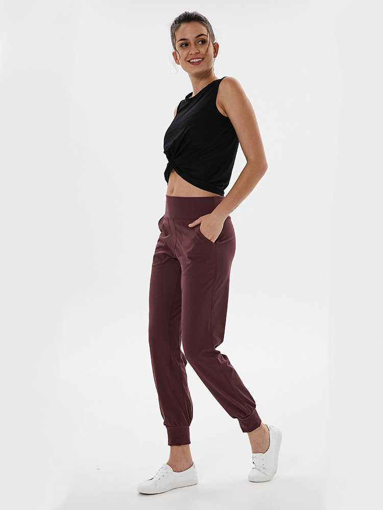 Sportswear Aptidão Mulheres Comfy Cotton Top curto