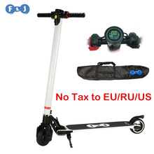 2016 New Design Carbon Fiber Electric Scooter with New Screen good foldable system 10.4AH/8.8AH LG Battery With Carrying Bag