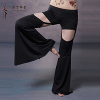 Ropa de baile Pantalones de Danza Del Vientre de Satén Pantalones Profesional de Danza Del Vientre Pantalones Pantalones de Yoga Pantalones de Baile Para Las Mujeres Tribales