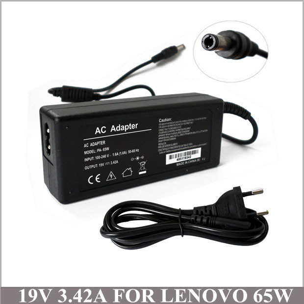 19V 342A 65W Notebook AC Adapter Laptop Charger Plug For Netbook Lenovo IBM 3000 G450