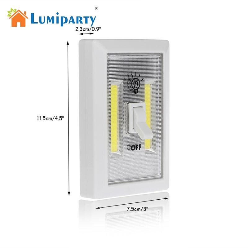 LumiParty УДАРА светодиодный настенный выключатель фонари Аварийной детский ночник крытый Открытый домашнего освещения лампы для кабинета Бат... ...
