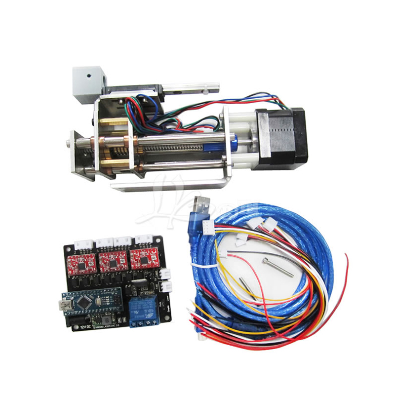 LY DPS-01 Laser machine de gravure convertir à 3 axes CNC modèle bricolage Z axe plate-forme de glissière suite avec stylo pince