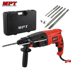 MTP MRHL2607 4 Functions 800W Electric Hammer Impact Drill Electric Drill Power Tool Rotary 26mm 220V EU Plug