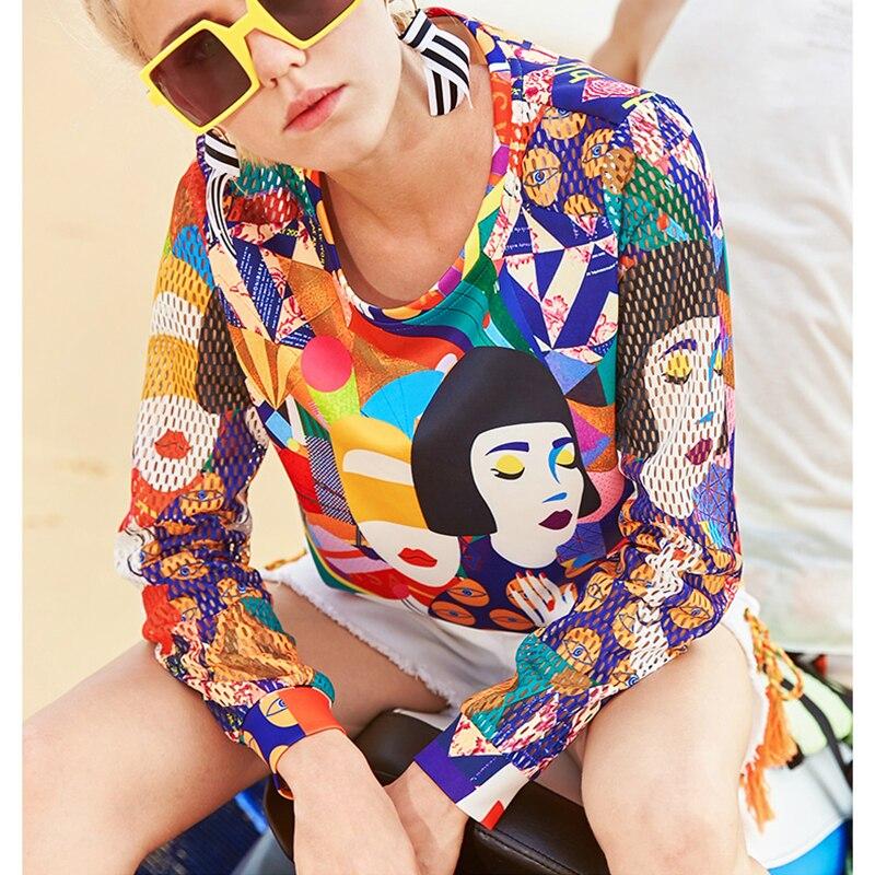 Y Camisa Mujeres Corto Camisetas Harajuku Impresión Camiseta Playa Top Amarillo Casual Ropa Hueco T De Gráfico Dibujos Las Verano Animados 0q6USg6