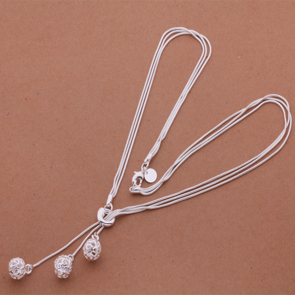 Small silver chain necklace - silver long necklace chain types