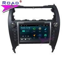 TOPNAVI Android 7,1 4 ядра 8 Два Дин мультимедийный DVD плеер для Toyota Camry 2010 2011 2012 Стерео gps navi Авто Аудио