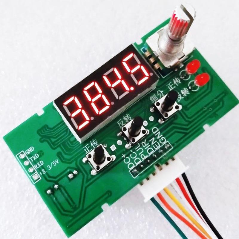 Image 4 - Stepper Motor Driver Control Board Reversal/Pulse/Speed Regulation/Module/Speed DisplayStepper Motor   -