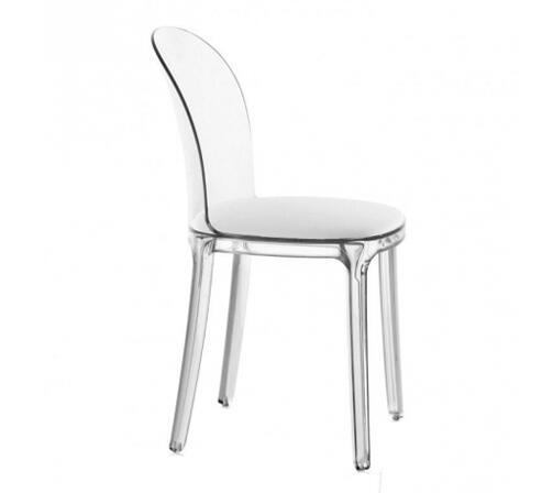 YINGYI Free Shipping PC Plastic Dining Chair Without Arms High Quality