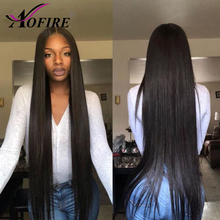 Lace Front Human Hair Wigs Brazilian Straight Remy Hair For Black Women With Baby Hair Bleached Knots Natural Color Pre Plucked