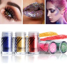 20 Colors Glitter Party Eyeshadow Cosmetics Colorful Diamond Makeup Lips Eyes Powder Lasting Eye Shadow