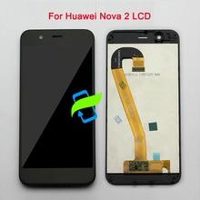 5 «ЖК-дисплей для Huawei NOVA 2 Дисплей Сенсорный экран планшета Ассамблеи рамка для NOVA 2 PIC-AL00 PIC-L09 PIC-L29 PIC-TL00 PIC-LX9 ЖК-дисплей