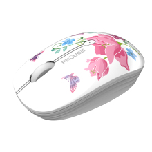 Flower Printed Wireless Mouse