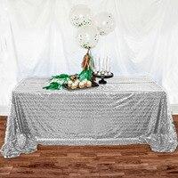 SILVER SEQUIN TABLECLOTH, Silver Wedding Tablecloth, Silver Glitter Tablecloth, Silver Sparkly Tablecloth,(48''*72'') r