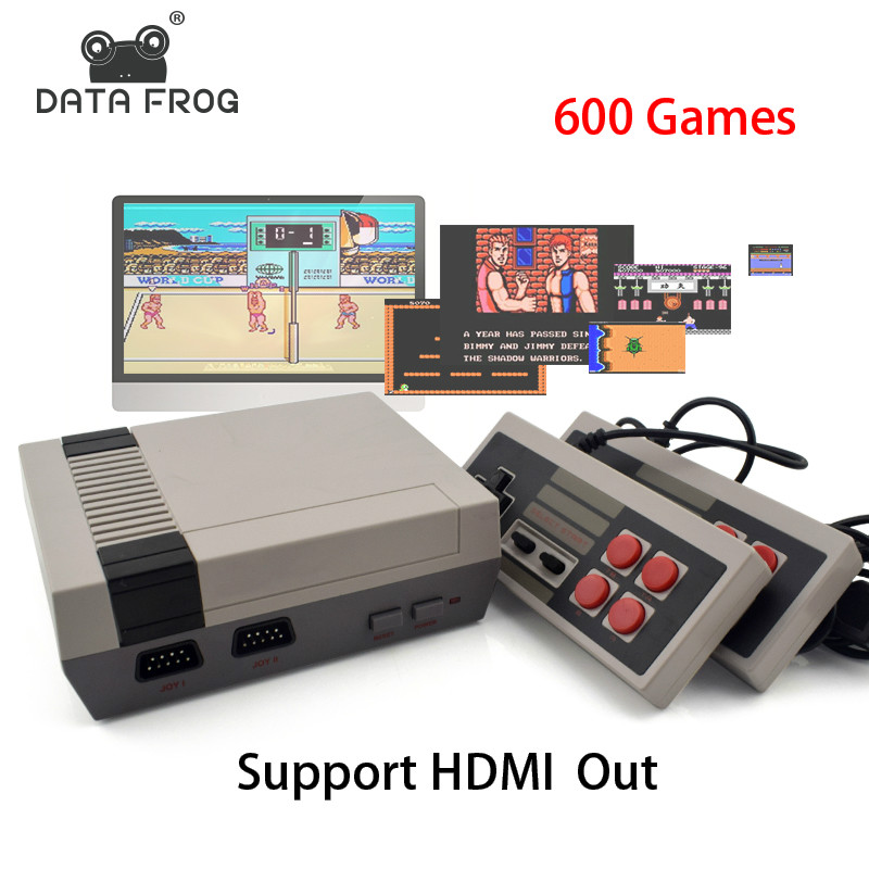 Mini TV Game Console Support HDMI 8 Bit Retro Video Game Console Built In 600 No