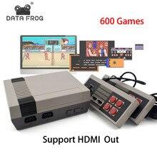 Mini TV Spielkonsole Unterstützung HDMI 8 Bit Retro Video Spiel konsole Eingebaute 600 Keine Wiederholung Spiele-handheld-game-spieler Gaming Spieler Beste Geschenk