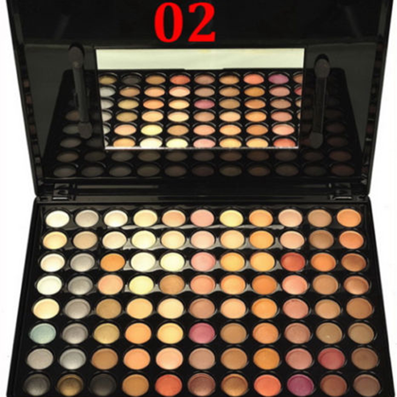 Fashion 88 Colours Eyeshadow Eye Shadow Palette Makeup Set Make Up Palettes Cosmetic For Eyeshadow Professional Box cosmetic 4 colours diamond eyeshadow palette with mirror and brush