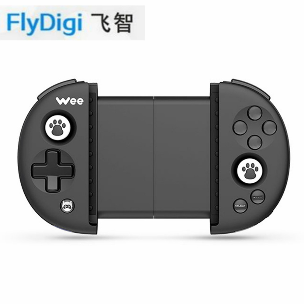 FlyDigi Wireless Bluetooth 4.0 Game Controller Adjustable For iOS For Android Buttons Battery Anti-slip Remote Control Joystick non slip colloidal particles rocker cap set for xbox360 wireless controller