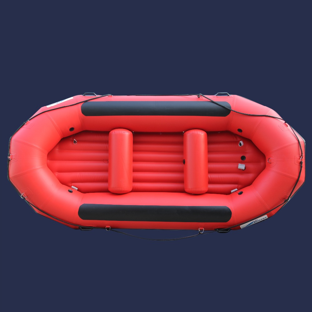 US $755 0 |Free Sea Shipping 6 People Factory Direct Sale River Boat Self  bailing Inflatable Whitewater River Rafts-in Rowing Boats from Sports &