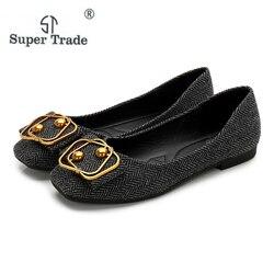 Women Casual Shoes Lady Girls Fashion Sweet Flat Women Comfort Flats, Memory Foam Insole, Flex A Lite Outsole Big Size 36-42