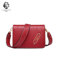 LAORENTOU 2019 новая Брендовая женская кожаная сумка модная красная маленькая сумка из воловьей кожи женские кожаные сумки через плечо для женщин