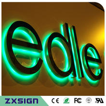 Led-Sign Letters Back-Lit Custom Factory-Outlet Stainless-Steel Metal Halo