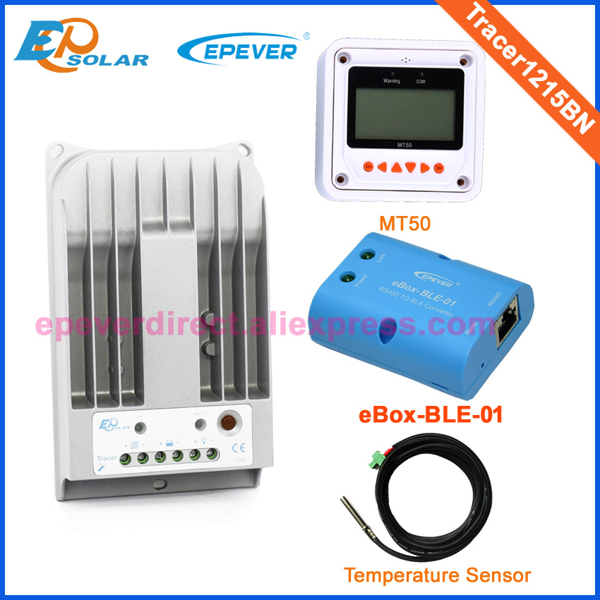 24v mppt 10A bettery charger regulator Tracer1215BN BLE BOX&temperature sensor white MT50 remote meter 12v 24v auto work24v mppt 10A bettery charger regulator Tracer1215BN BLE BOX&temperature sensor white MT50 remote meter 12v 24v auto work