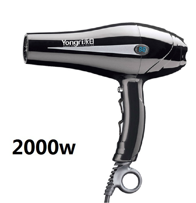 2000w Led Display Hair Dryer Professional Blow Hairdryer