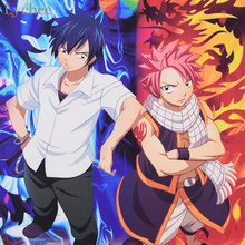 Fairy Tail Poster Canvas Scroll Painting Poster