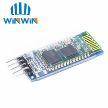 H34 50 pz/lotto 4pin hc 06 HC06 modulo di trasmissione Bluetooth, tra cui piastra di base/cinghia attivare e di uscita/radio di serie/Macchina