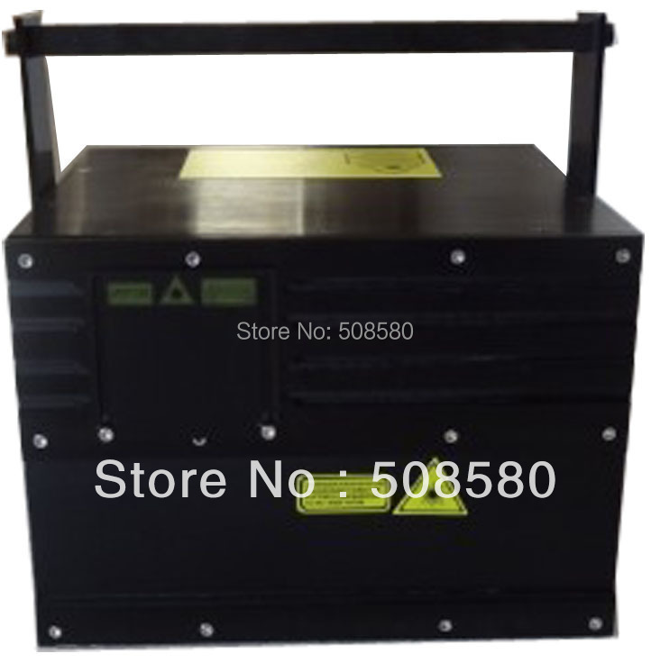 In Quality 3w Rgb Animation Laser Light Dt40k Scanner+flightcase R>500mw/637nm,g1w,b1.5w Disco Equipment Superior