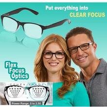 Ein Power Leser Als Gesehen Auf TV Brillen Setzen Alles In Klaren Fokus Auto-Anpassung Lesebrille Drop Verschiffen