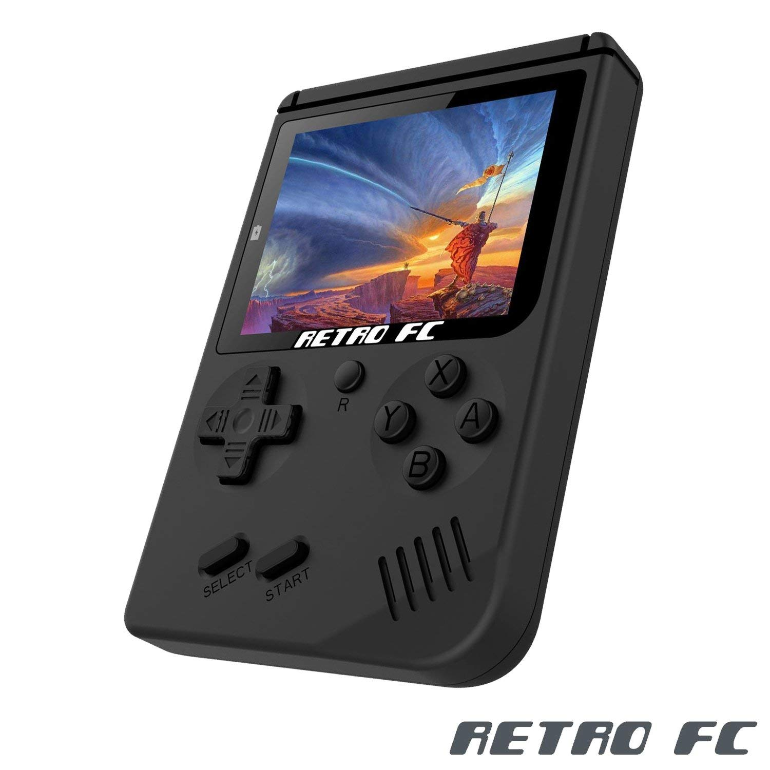 Zorx Nostalgic 8 Bit Retro Mini Pocket Handheld Game Player Video Game Console Built-in 168 Classic Games Gift for Children