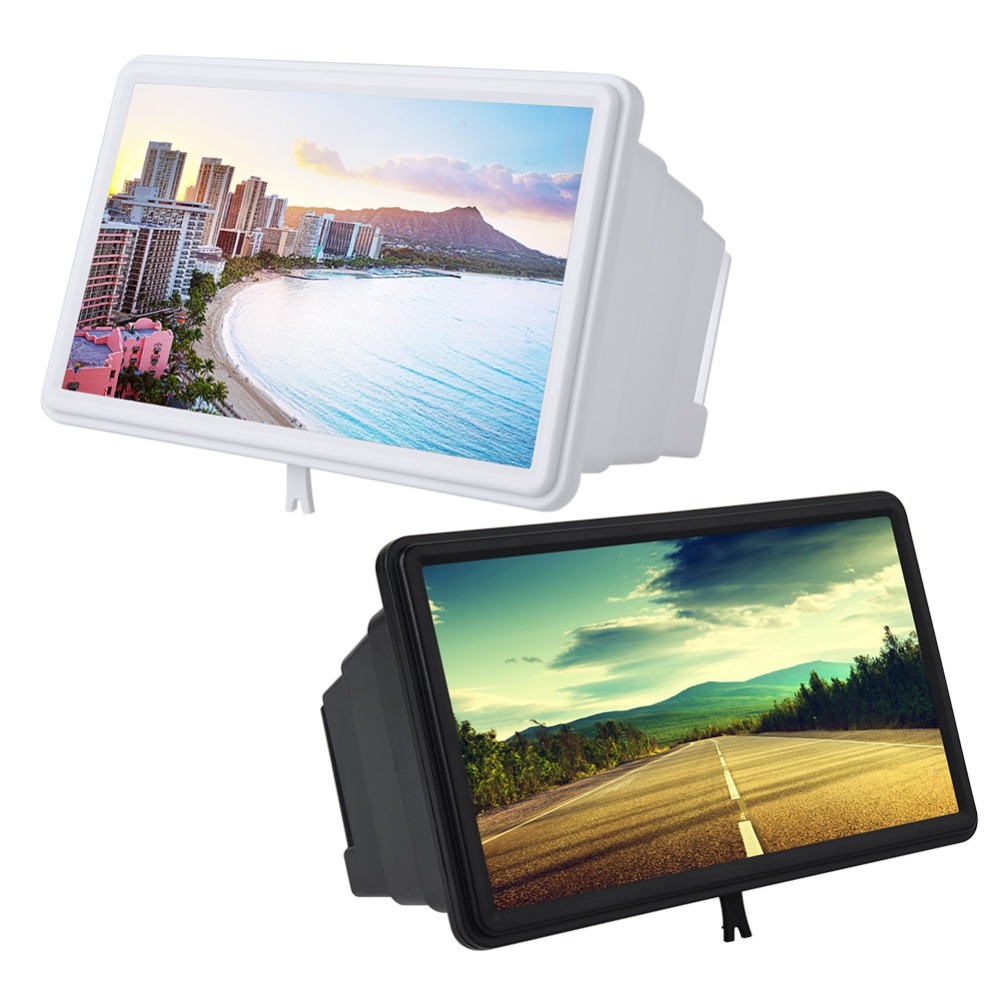 Detail Feedback Questions About 12 Inch Mobile Phone Screen Amplifier Portable Plastic Retractable High Definition Video Mini Home